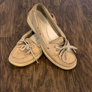Sperry Top Sider size 7.5 tan